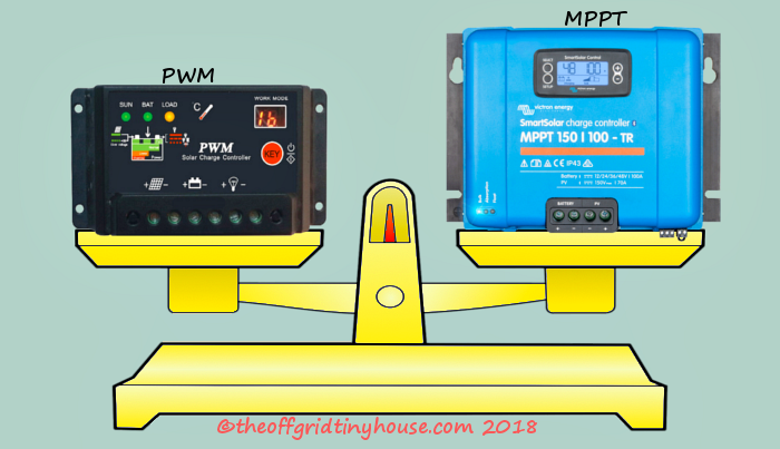 PWM vs MPPT Charge Controllers