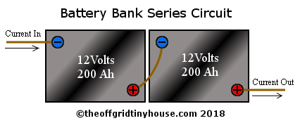 Batteries in Series Circuit
