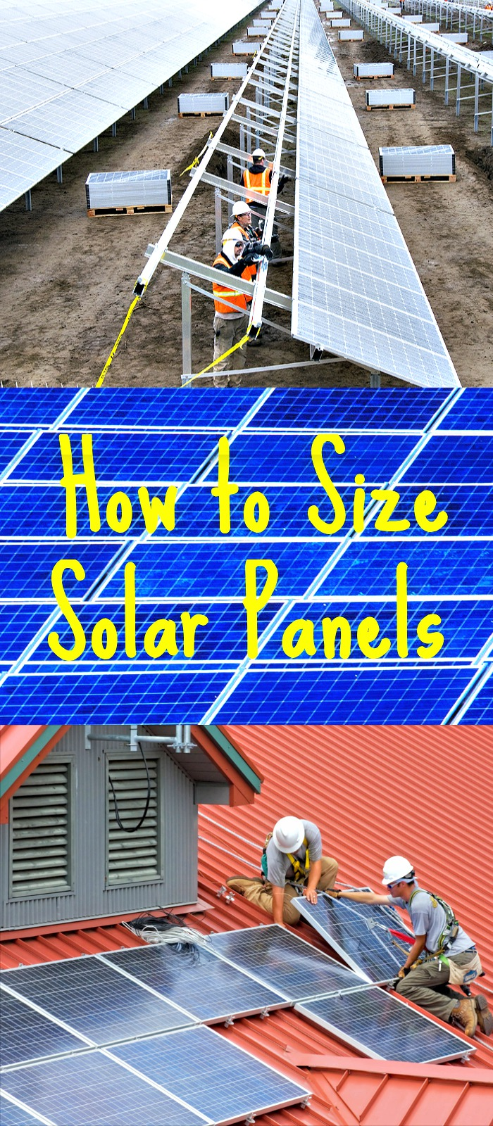How to Size Solar Panels