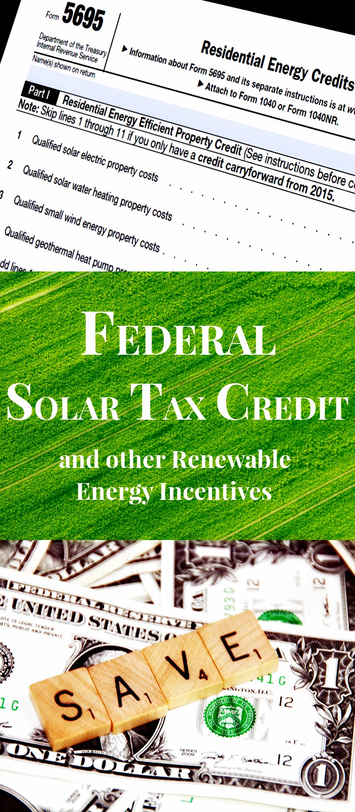 Federal Solar Tax Credit Pin