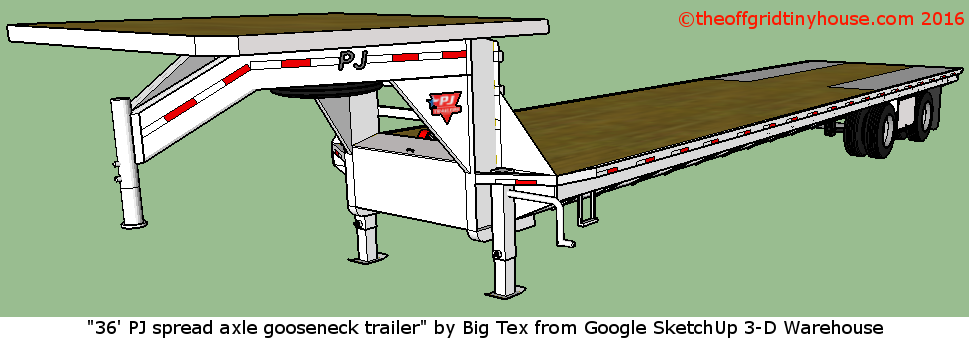 This is a Gooseneck Trailer