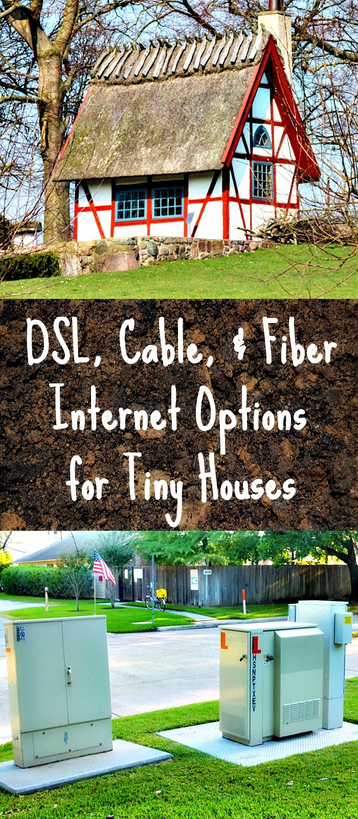 Wired Internet Options Dsl Cable And Fiber For Tiny Houses Wiring A House Voice 2 Home Pin