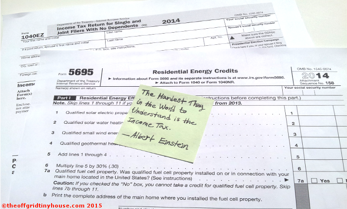 Renewable Energy Tax Forms